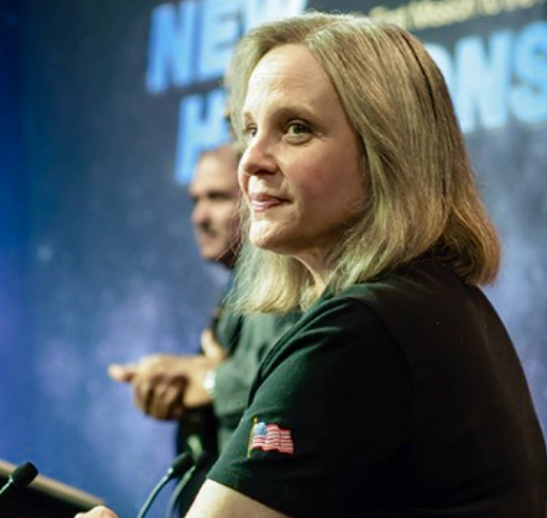 Alice Bowman of the New Horizons mission